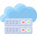 infrastructure, sync, cloud, folder, data, storage, server icon