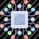 chip, processor, motherboard, microchip, cpu, hardware, computer