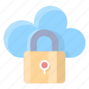 protection, cloud, connection, data, lock, security, secure