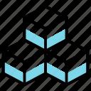 big, colored, data icon