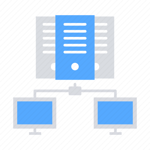 Bigdata, cloud database, cloud server, data center, data server, hosting server, network icon - Download on Iconfinder