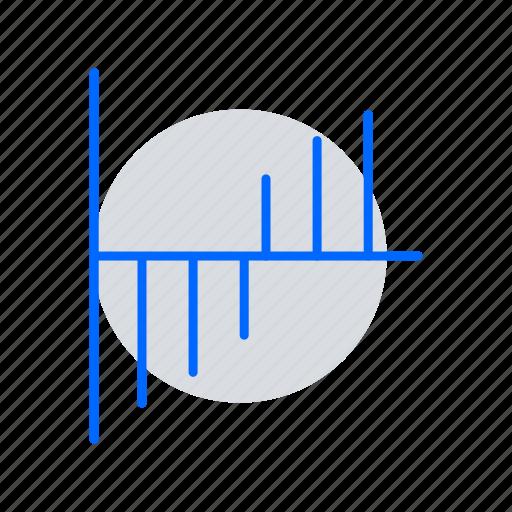 bar chart, data analytics, evaluation, seo, statistics, utilization data icon