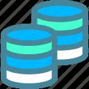 data, database, internet, server icon
