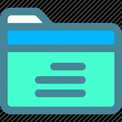data, file, folder icon