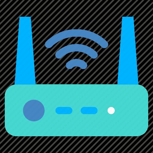 internet, router, wifi icon