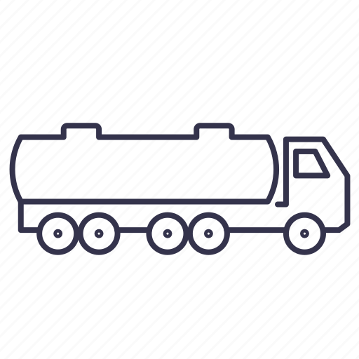 car, cistern, tank, van, vehicle icon