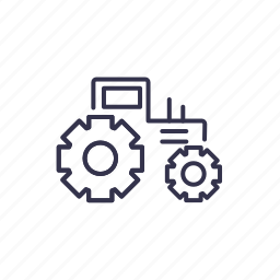 agrimotor, tractor, truck, vehicle icon