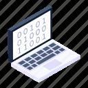 binary interface, binary code, abi programming, application binary interface, binary code interface icon
