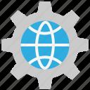 global settings, internet settings, optimization, seo, web development, web settings icon