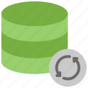 database connection, refresh, refresh database, reload data, reload database, update database icon
