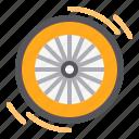 wheel, bicycle, rim, bike, tire