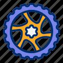bicycle, bike, brake, disk, wheel icon