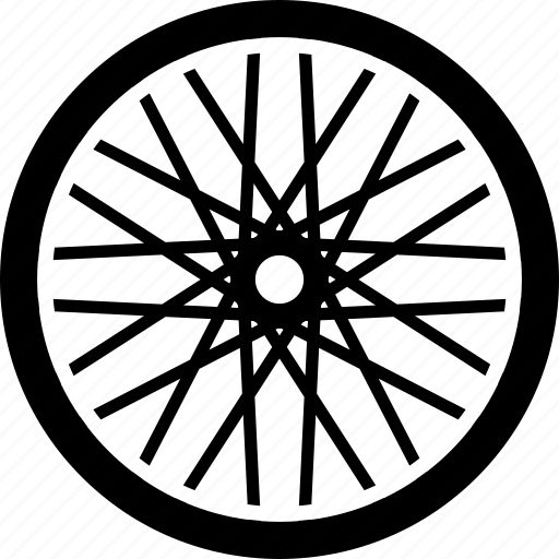 bicycle, bike, cycling, equipment, part, tire, wheel icon
