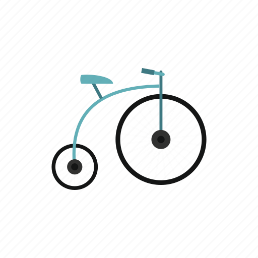 antique, bicycle, bike, old, retro, vintage, wheel icon