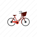 bag, bicycle, bike, cycle, front, sport, transportation icon