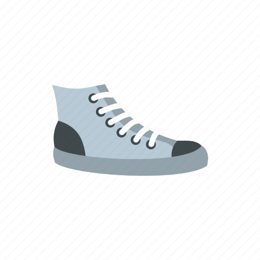 athletic, fashion, footwear, lace, shoe, sneakers, sport icon