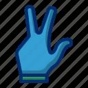 billiard, glove, hand, shoot, sport icon