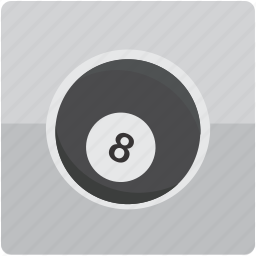 ball, billiard, billiards, eight, pool icon