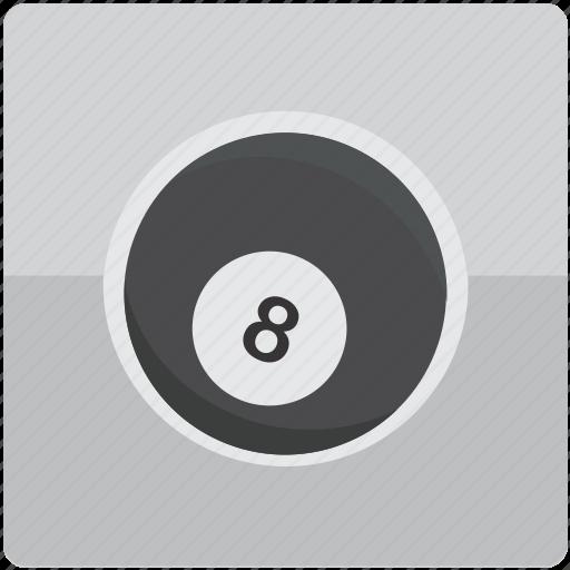 ball, billiard, billiards, eight, pool icon