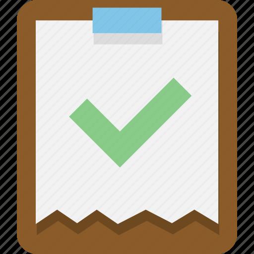 clipboard, documernt, office, paste icon