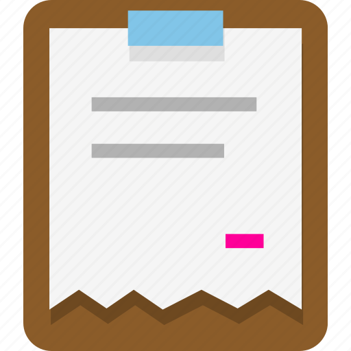 clipboard, document, office, paste icon