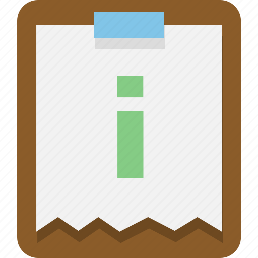 document, office, page, paper icon