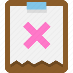 clipboard, document, office, page, paper, paste icon