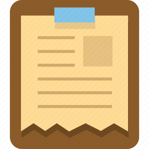 clipboard, document, documents, office, page, paper, text icon