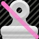 binder, no attachment, office icon