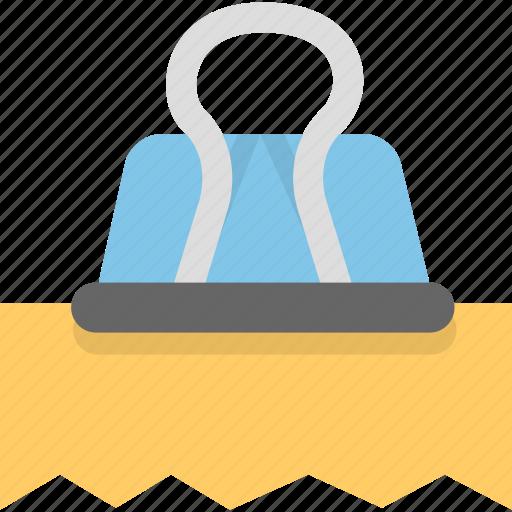 attachment, binder, document, file, invoice, office, receipt icon