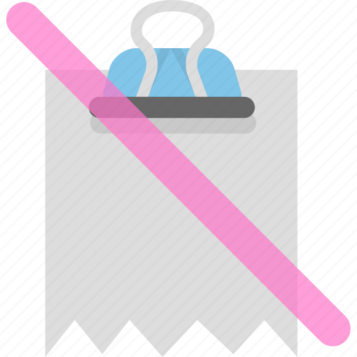 attachment, binder, document, file, office icon