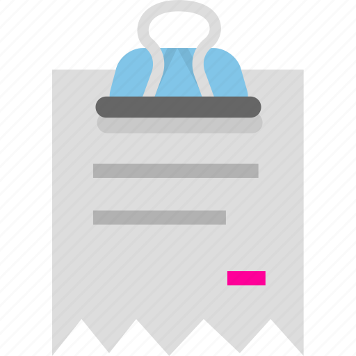 archive, binder, document, invoice, office, receipt icon