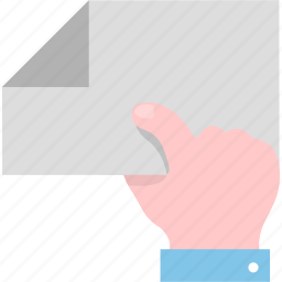 deliver, delivery, document, file, gesture, hand icon