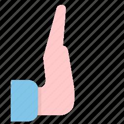 block, hand, no, prevent, stop icon