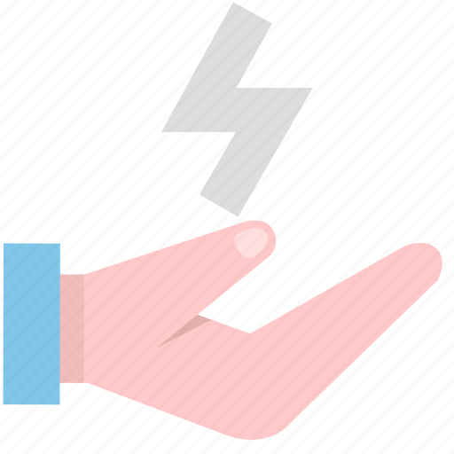 deliver, delivery, hand icon