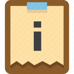clipboar, documents, office icon