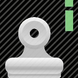 attachment, attachment information, binder icon