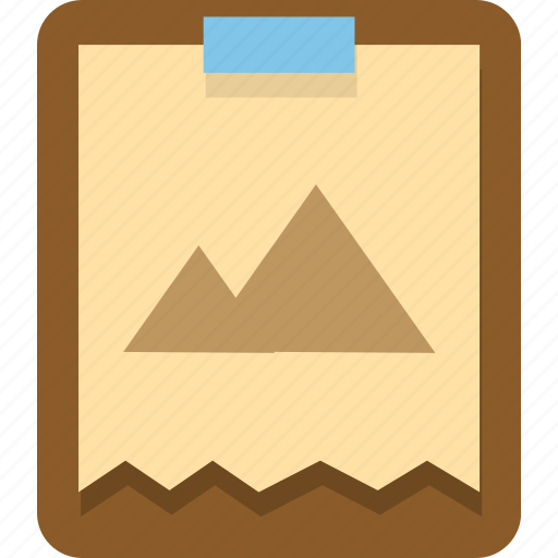 clipboard, documents, image, office, photo, picture icon