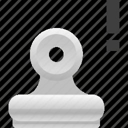 attachment, binder, office icon