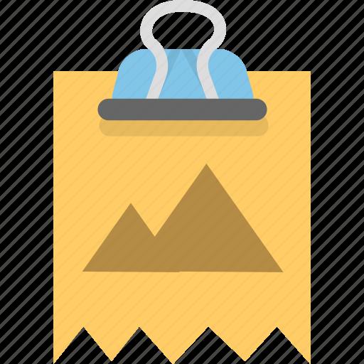 attachment, binder, image, photo, picture icon