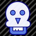 death, man, medical, of, skull