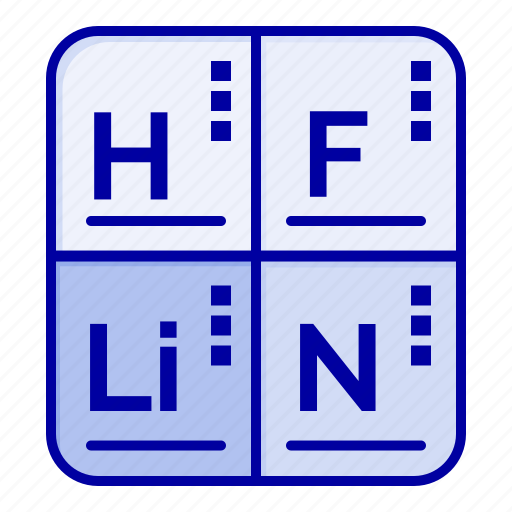Elements, medical, periodic, table icon - Download on Iconfinder