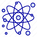 atom, molecule, particle, physics icon