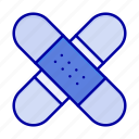aid, band, healthcare, kit, medical, tape icon