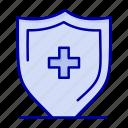 board, hospital, shield, sign