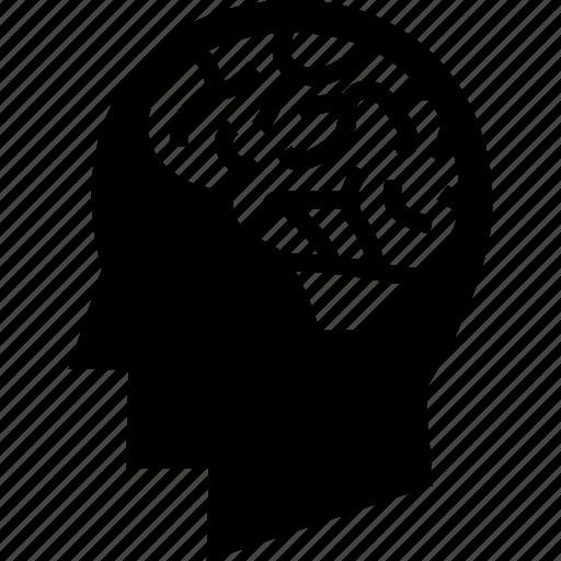 brain, brain anatomy, head brain, human brain icon