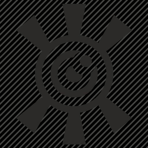 eye, eyesight, open, view, visible, vision icon