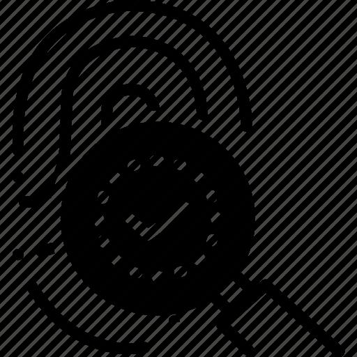 biometric, fingerprint, identification, identity, technology, thumbprint icon