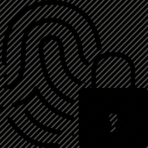 Biometric, key lock, lock, lockers, padlock, safe, secure icon - Download on Iconfinder