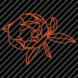 bees, birds, bud, flower, garden, nature icon